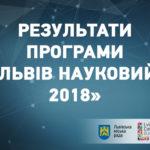 Визначено переможців програми «Львів науковий 2018»