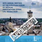 Lviv won the right to hold 35th annual meeting of the Europeam forum of medical associations